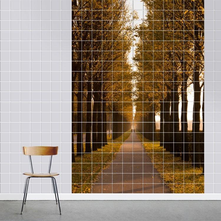 Αυτοκόλλητο πλακάκι τοίχου Φθινόπωρο
