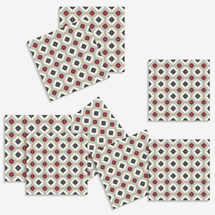 Abstract γεωμετρικό μοτίβο (8 τεμάχια)