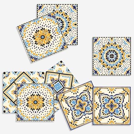Mandala μοτίβο (8 τεμάχια)