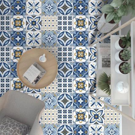 Πορτογαλικό azulejos μοτίβο (8 τεμάχια)