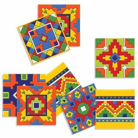 Μεξικάνικο Ταλαβέρα μοτίβο (8 τεμάχια)