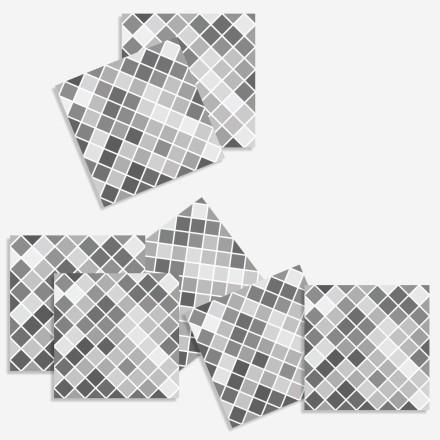 Ψηφιδωτό Ασπρόμαυρο (8 τεμάχια)