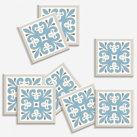 Abstract azulejo μοτίβο (8 τεμάχια)