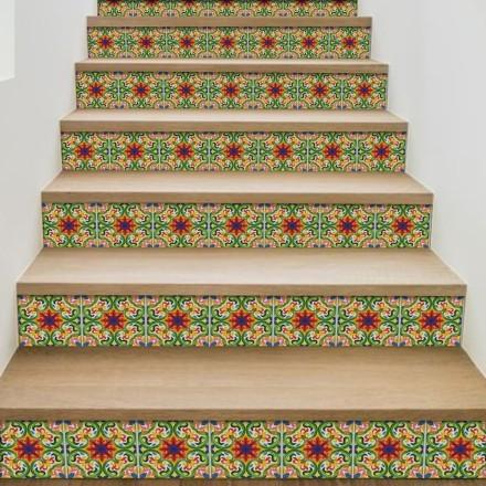 Πολύχρωμο ιταλικό floral μοτίβο
