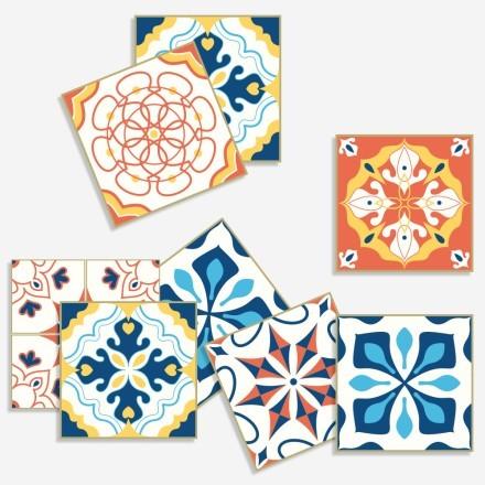 Ισπανικό ομοιογενές μοτίβο (8 τεμάχια)