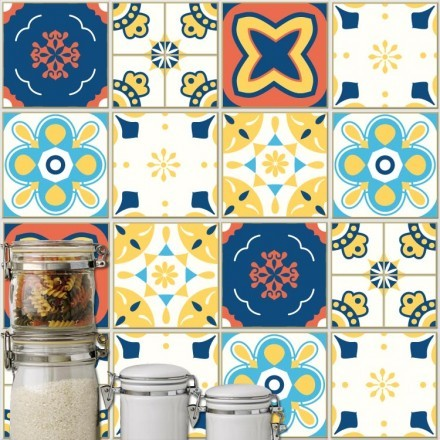 Abstract ισπανικό μοτίβο (6 τεμάχια)