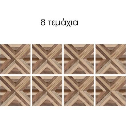 Ρεαλιστικό μοτίβο ξύλινης επιφάνειας (8 τεμάχια)