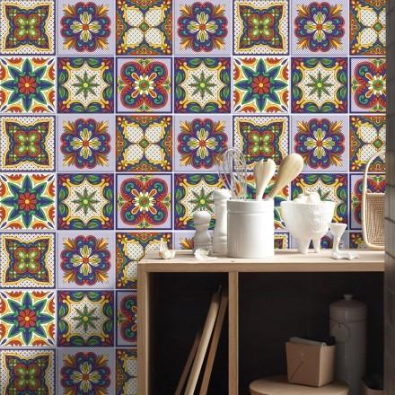 Συμμετρικό mandala μοτίβο (8 τεμάχια)