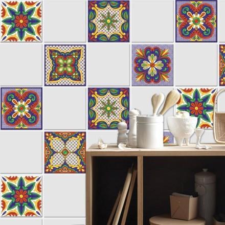 Συμμετρικό mandala μοτίβο (6 τεμάχια)