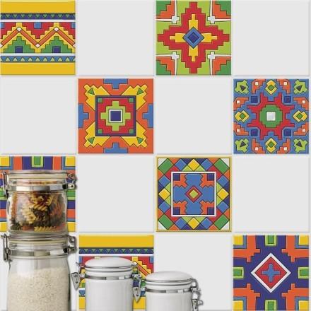 Μεξικάνικο Ταλαβέρα μοτίβο (6 τεμάχια)