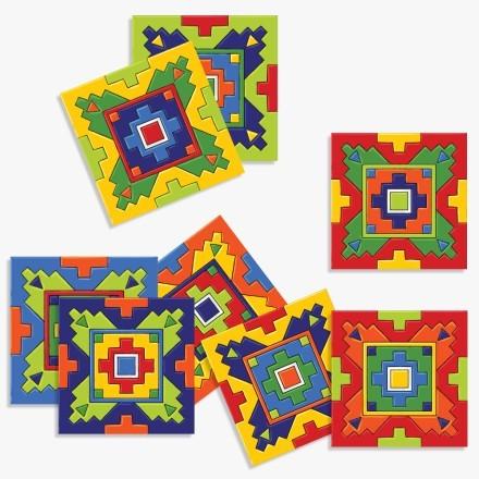 Μεξικάνικο Ταλαβέρα ρετρό μοτίβο (8 τεμάχια)