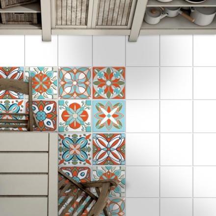 Μαροκινό ομοιογενές γεωμετρικό μοτίβο (8 τεμάχια)