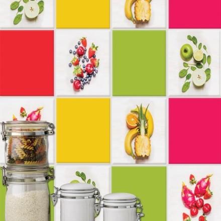 Μοτίβο με φρούτα (8 τεμάχια)