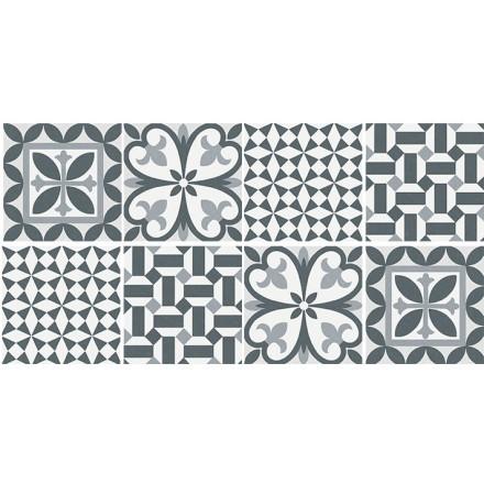Ρετρό μοτίβο (8 τεμάχια)