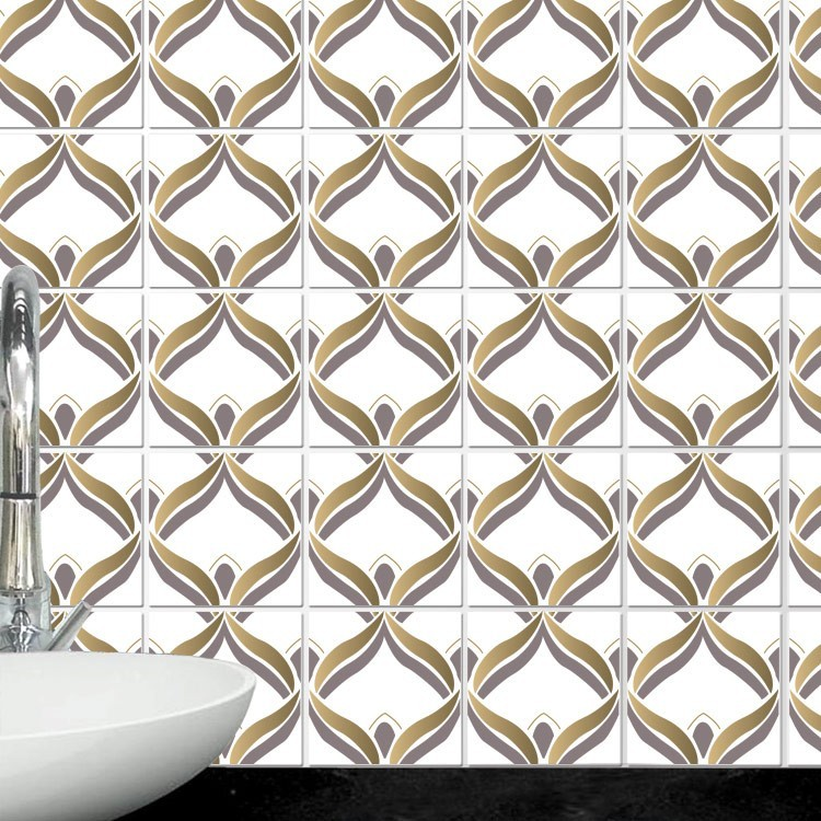 Αυτοκόλλητο Πλακάκι Μαροκινό μοτίβο (8 Τεμάχια)