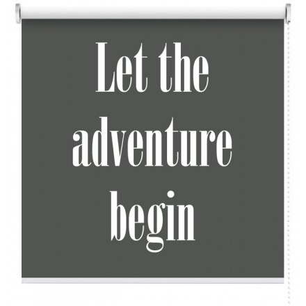 Let the adventure