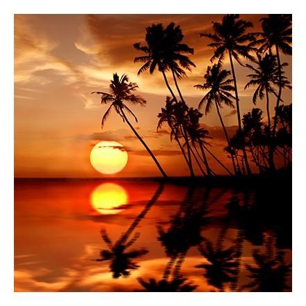 Αντανάκλαση ηλιοβασιλέματος