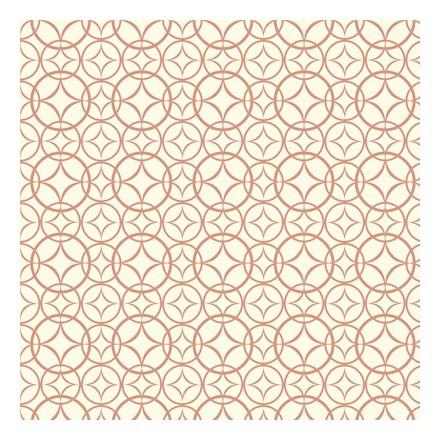 Πορτοκαλί Ρετρό μοτίβο