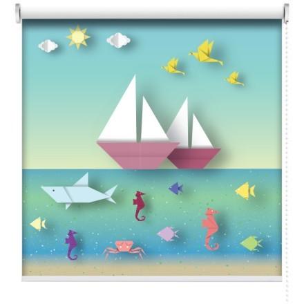 Βάρκες και ψαράκια