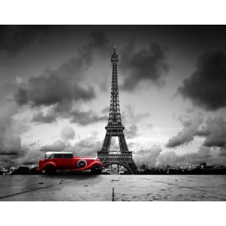 Kόκκινο αυτοκίνητο, Πύργος του Άιφελ