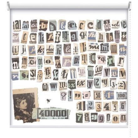 Ρετρό αλφάβητο