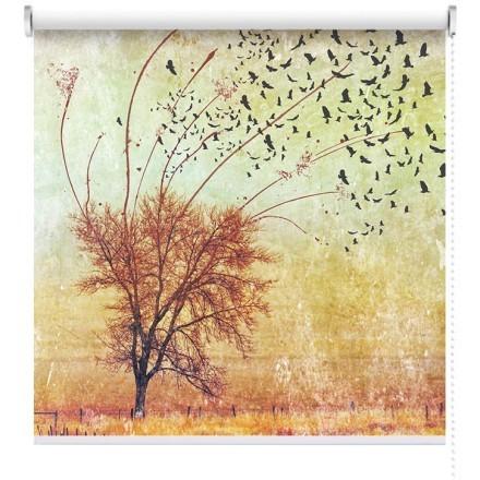 Δέντρο με πουλιά