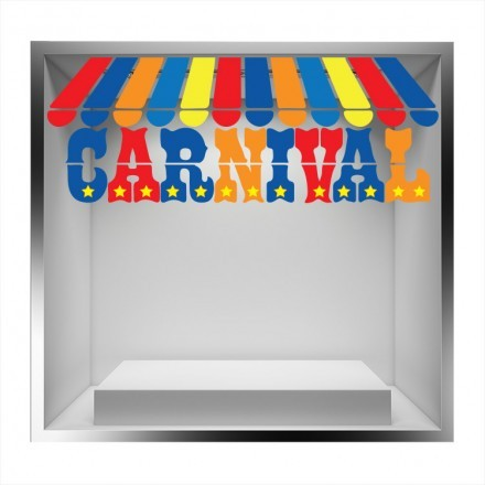 Carnival, πολύχρωμη τέντα