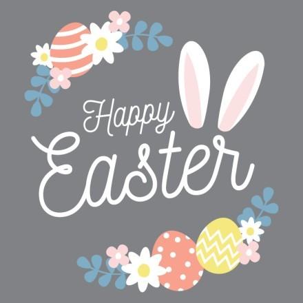 Happy Easter,Flowers