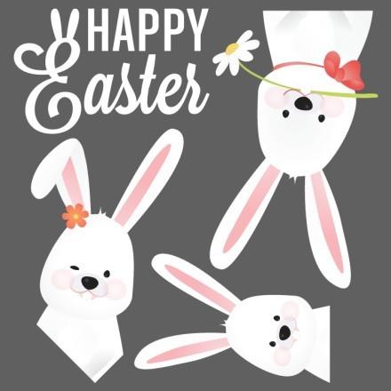 Happy Easter-Χαρούμενα Λαγουδάκια