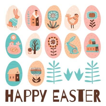 Happy Easter-Vintage Αυγουλάκια