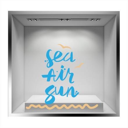 Sea air sun