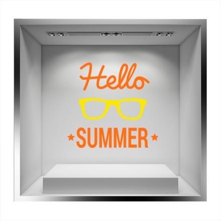 Hello Summer με γυαλιά
