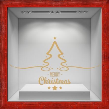 Christmas Tree-Gold star