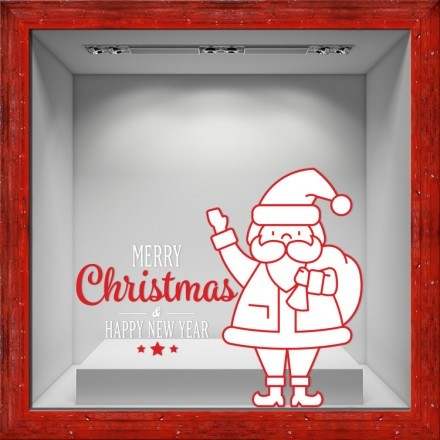 Santa Claus White-Red