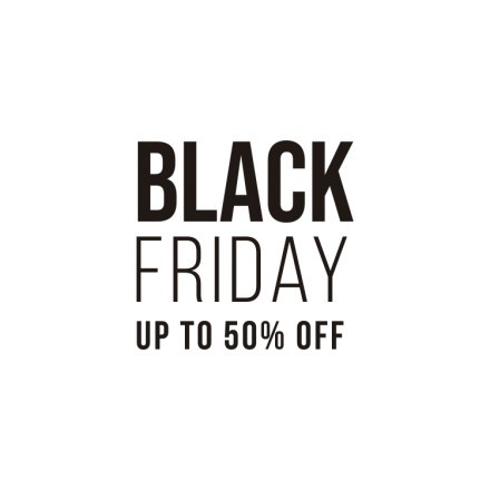 Black Friday Up To 50%
