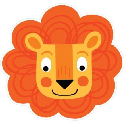 Χαρούμενο λιοντάρι