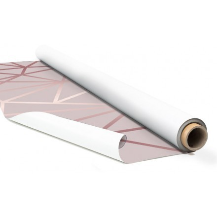 Ροζ φόντο με γραμμές