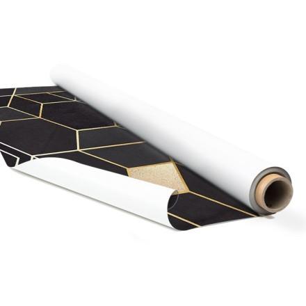 Μοτίβο με ρόμβους μαύρο & χρυσό