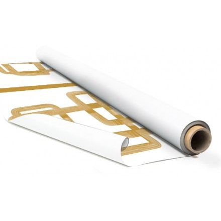 Gold abstract line