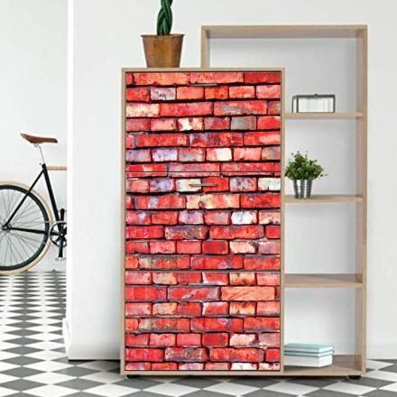 Παλιός τοίχος με τούβλα