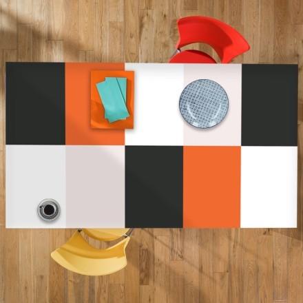 Μαύρο, λευκό, πορτοκαλί