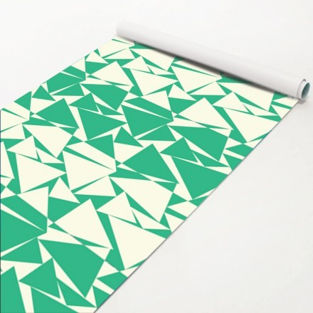 Μοτίβο με τρίγωνα πράσινα