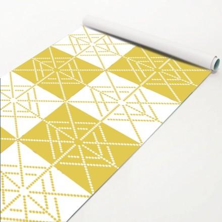 Κίτρινο μοτίβο με κηλίδες