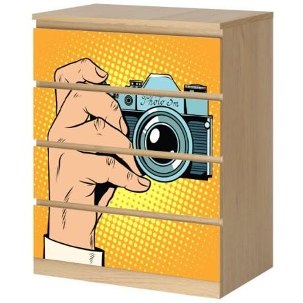Φωτογραφική μηχανή, κόμικς