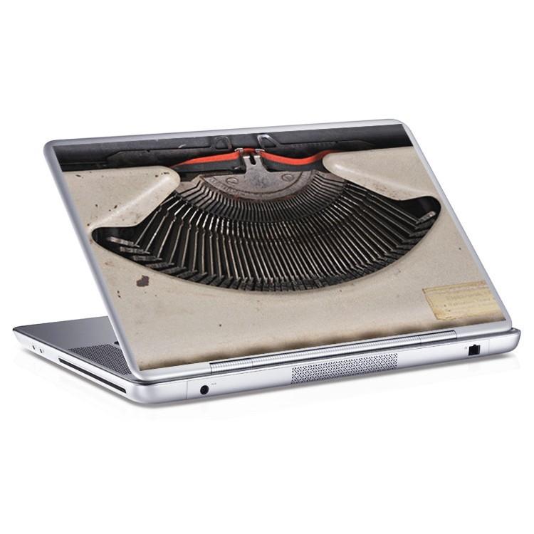 Αυτοκόλλητο Laptop Γραφομηχανή