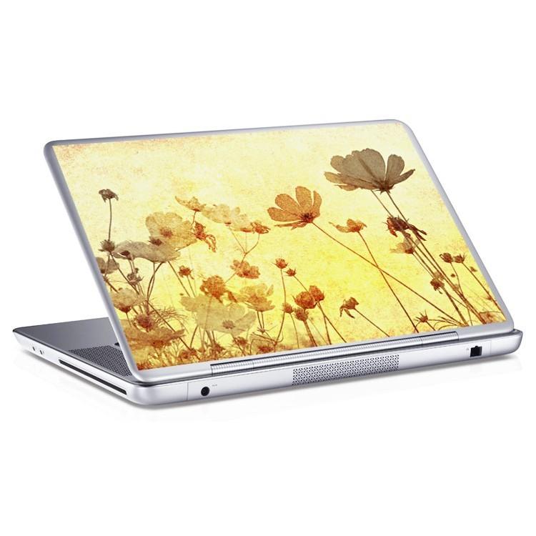 Αυτοκόλλητο Laptop Λουλόυδια