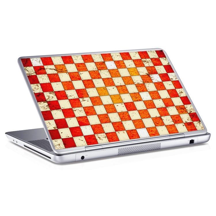 Αυτοκόλλητο Laptop Τετράγωνα