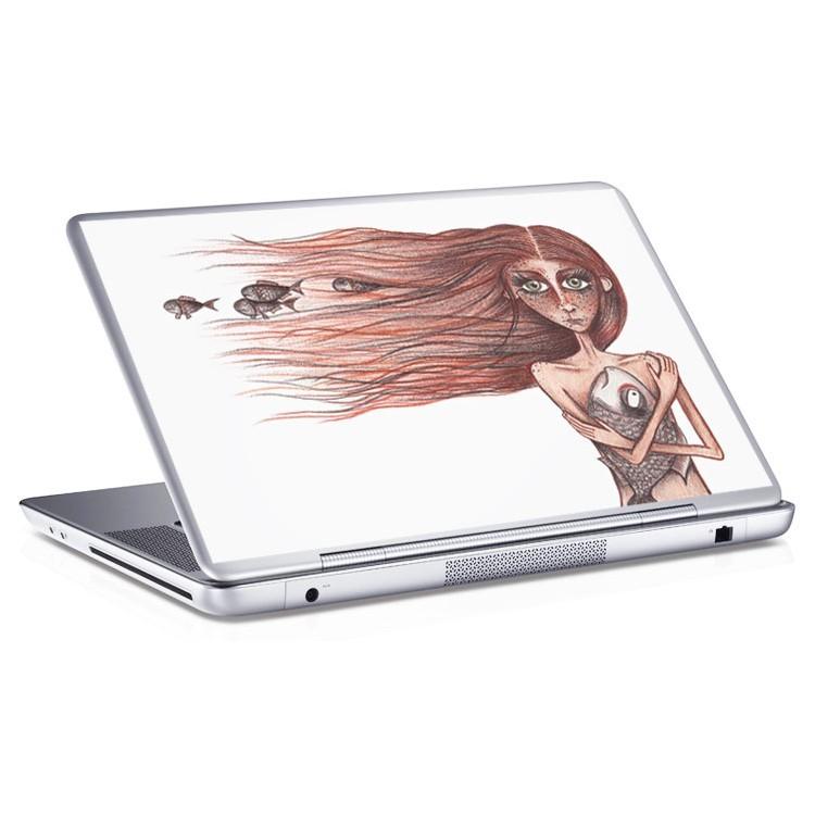Αυτοκόλλητο Laptop Κορίτσι