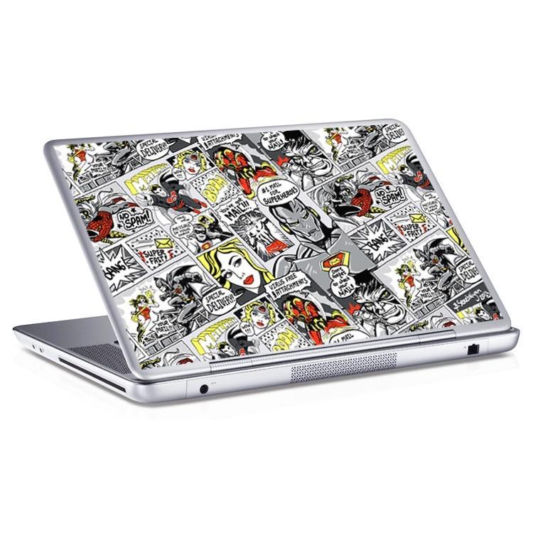 Αυτοκόλλητο Laptop Comic