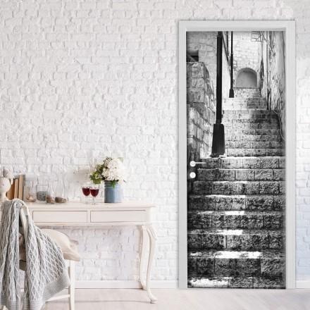 Ασπρόμαυρη Εικόνα με Σκάλες